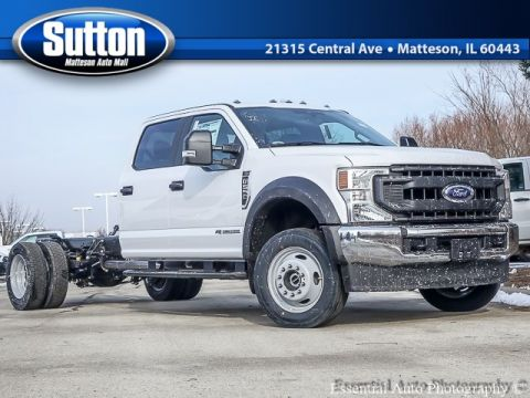 New 2020 Ford F-550SD XL 4WD