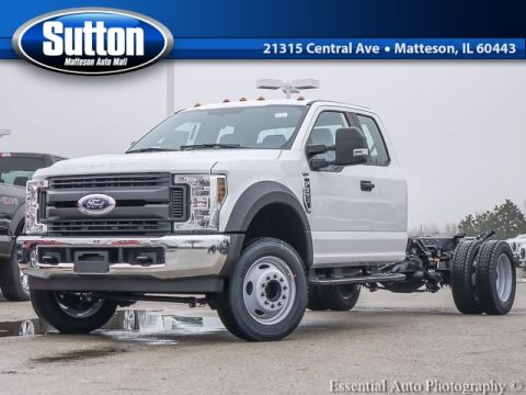 New 2019 Ford F-550SD XL 4WD