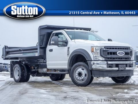 New 2020 Ford F-450SD COMMERCIAL RWD DUMP