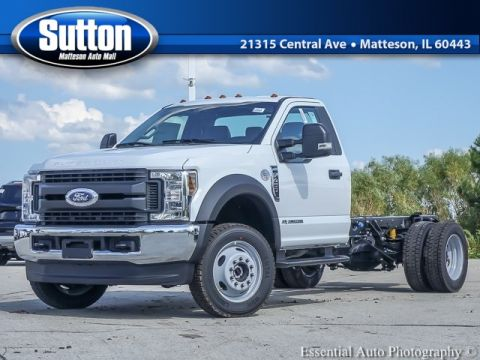 New 2019 Ford F-450SD XL 4WD