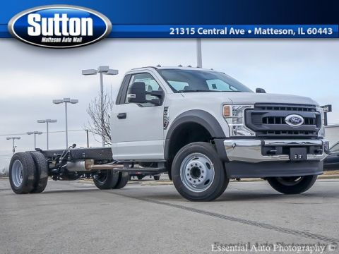 New 2020 Ford F-550SD XL RWD Regular Cab Chassis-Cab