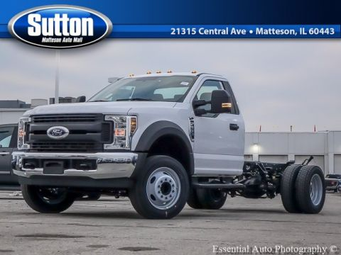 New 2019 Ford F-550SD XL RWD CHASSIS CAB