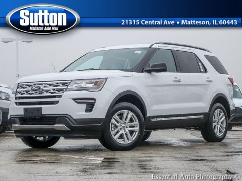 New 2019 Ford Explorer Base AWD